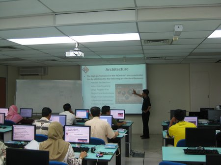 """Overloaded"" during PIC18 Workshop in UTM"