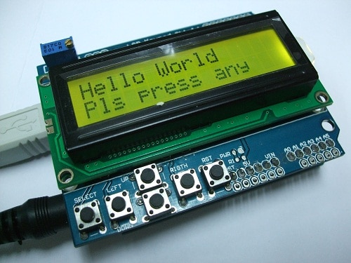 "PROJECT 1 - ""Hello World"" ON LCD"