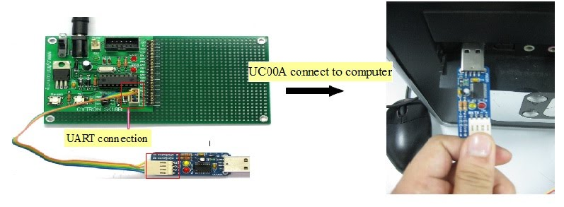 UC00A to computer