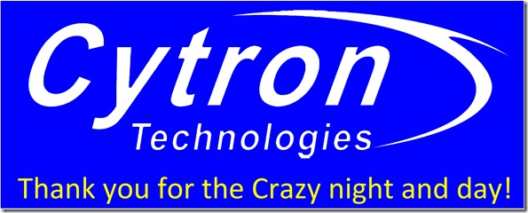 Cytron Thank You