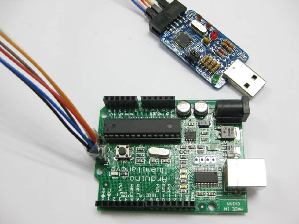 Burning Arduino Bootloader with AVR USBASP