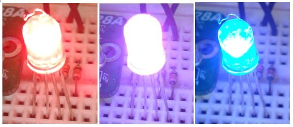 SK28A - RGB LED Mood Lamp