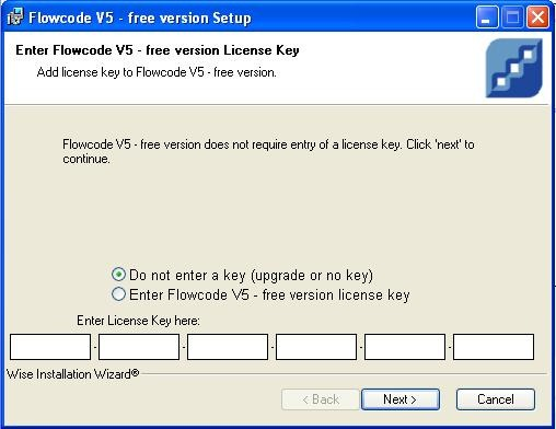 Flowcode 5 gui programming tutorial by cytron do not enter any key and just next if you are using the free and limited version fandeluxe Images