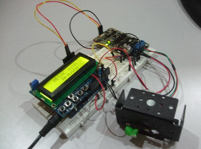 Controlling MD10C with Arduino