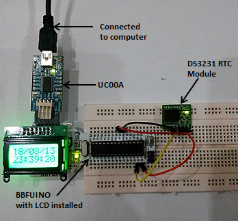 Interface DS3231 RTC module with PIC and Arduino – Tutorial by Cytron