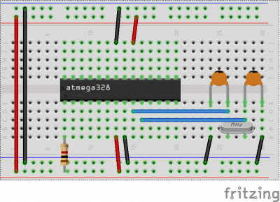 ATmega basic circuit_bb