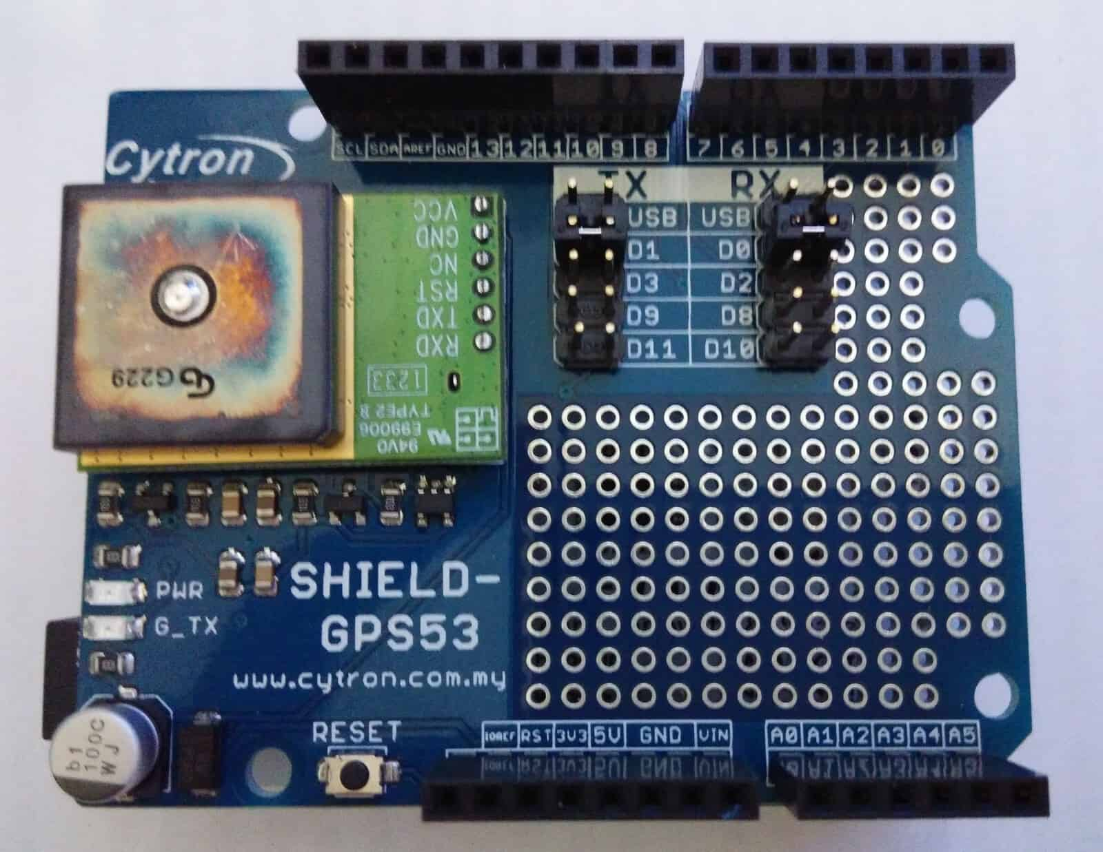 Getting Started With Arduino Leonardo Tutorial By Cytron Basic Electronics Tutorial2 How To Use Breadboard For Beginners Using Skm53 Gps Shield Ct Uno