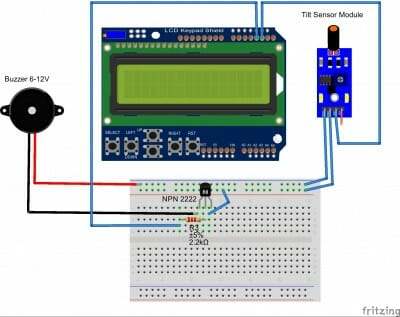 tutorial3_bb with keypad shield