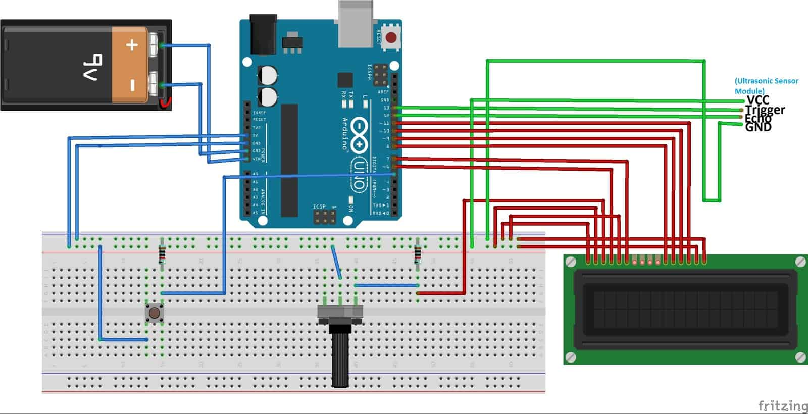 Build a Height Measurement Machine – Arduino – Tutorial by Cytron