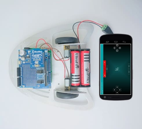 Controlling Mobile Robot via Android Bluetooth