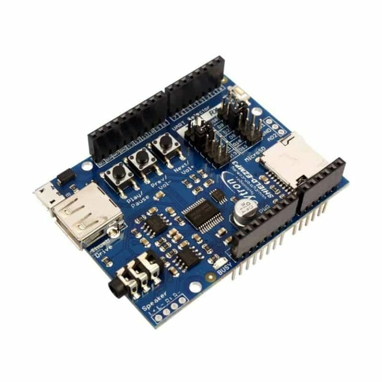 Getting Started? Let's Try EZMP3 Shield :D