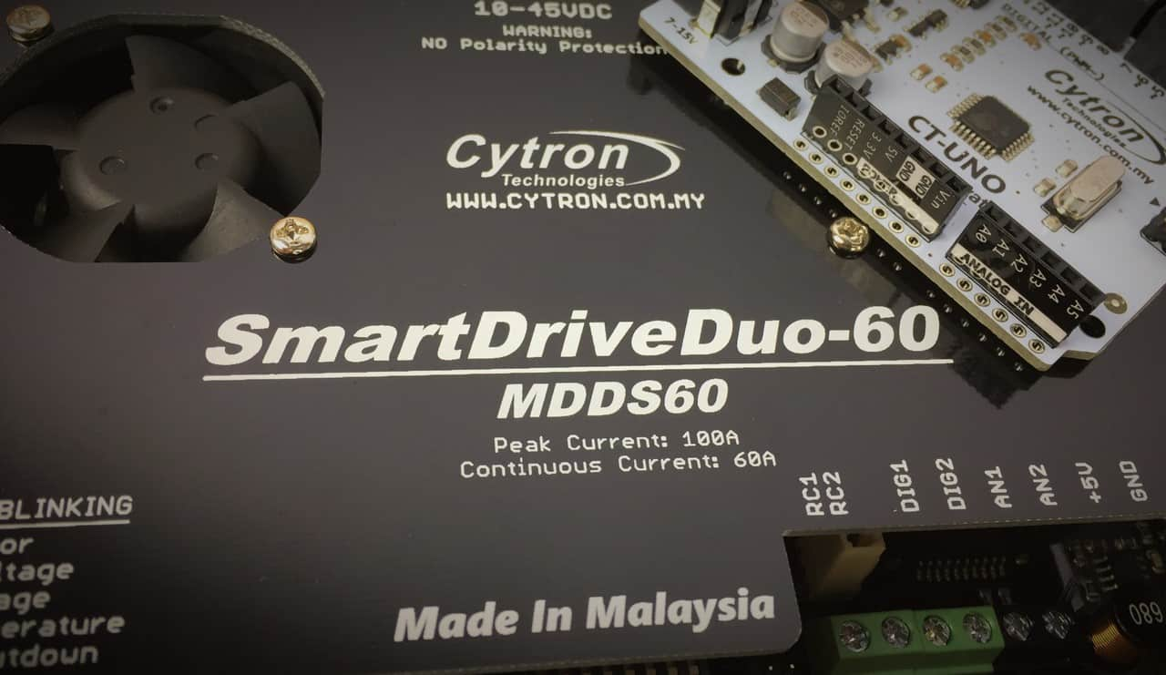 Let's Arduino Control Your SmartDriveDuo-60