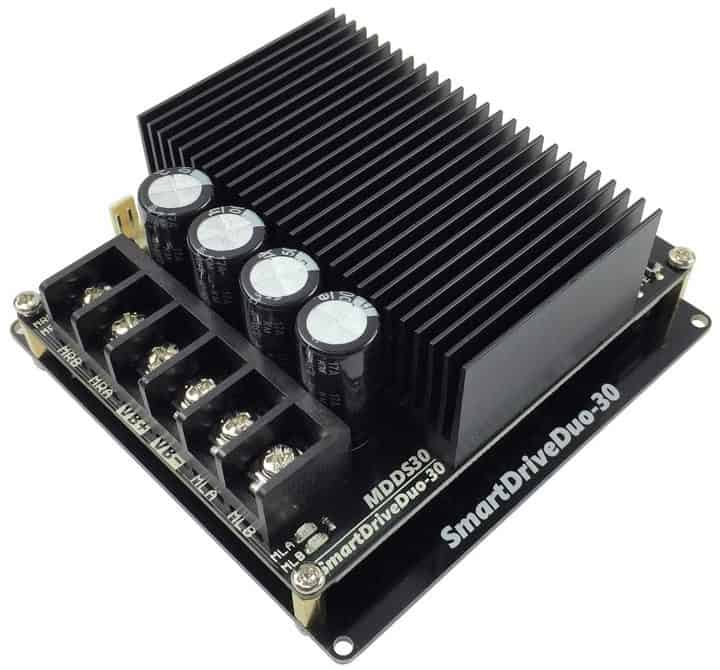 Introducing 30a dual channel dc motor driver with smart for Smart drive motor controller