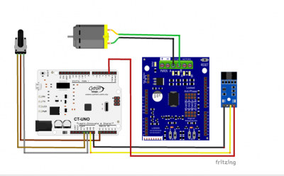 Getting started with encoder sensor module sn enc mod for Dc motor with encoder arduino code