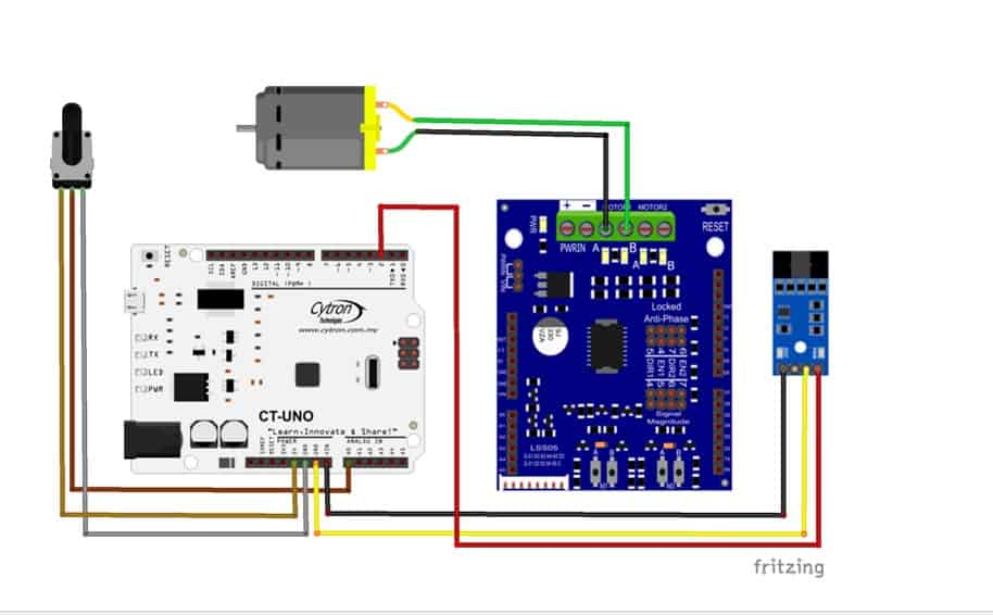 Getting Started with Encoder Sensor Module (SN-ENC-MOD