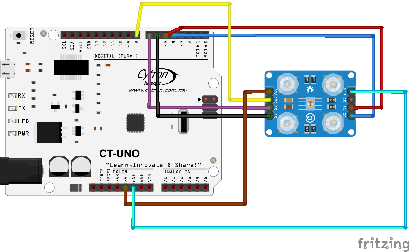 Getting Started with Colour Sensor Module (SN-COLOUR-MOD)