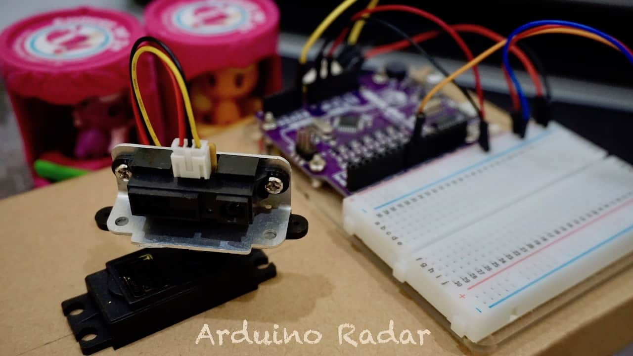 DIY Radar Using Arduino and Processing