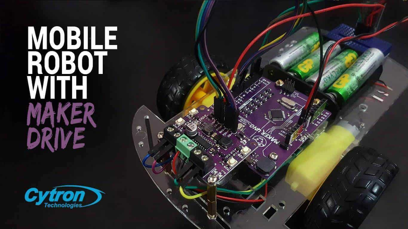 Bluetooth Mobile Robot wih Maker Drive