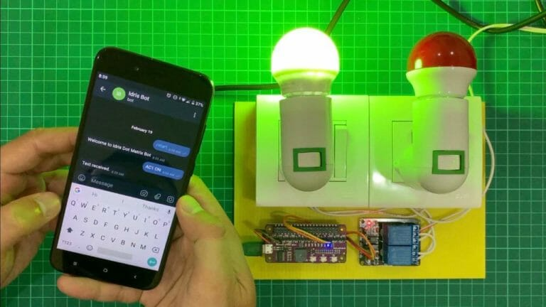Controlling Electrical Appliances Through Telegram Message Using Raspberry Pi