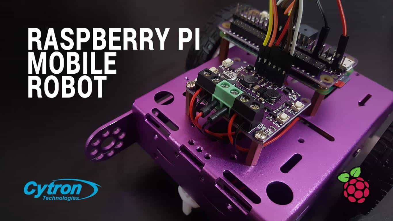 Raspberry Pi Mobile Robot with Maker Drive