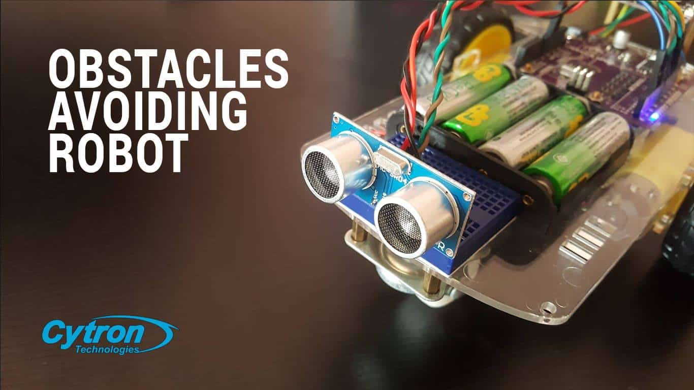 Obstacles Avoiding Robot Using Arduino and Maker Drive