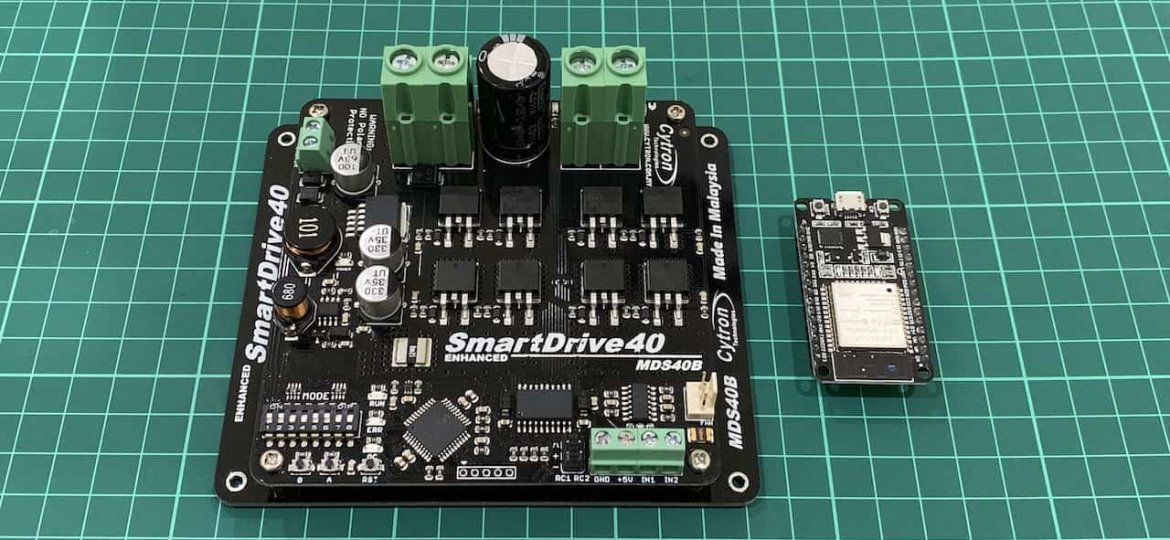 ESP32 MDS40B Featured