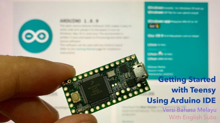Getting Started With Teensy Using Arduino IDE
